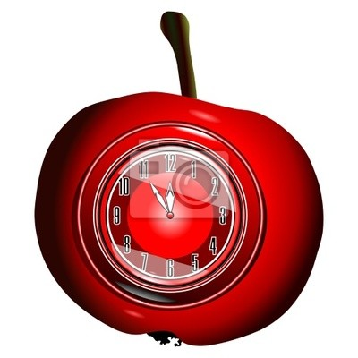 forma de la manzana roja