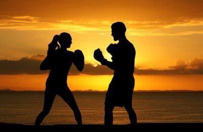 Cuadro Boxeo