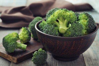 Cuadro Brócoli fresco verde