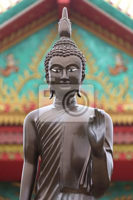 Cuadro Buda en un templo en Nakhon Ratchassima
