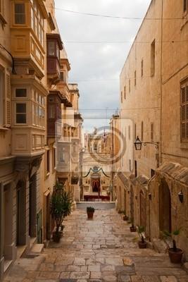 Calle en la vieja Valletta