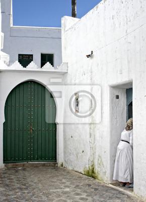 Cuadro calles de marruecos