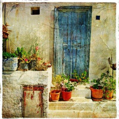calles griegas, imagen artística