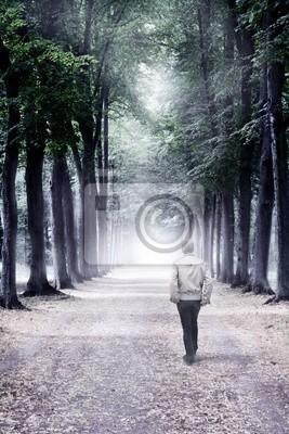 Camine a lo desconocido