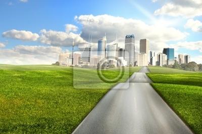Camino a la ciudad