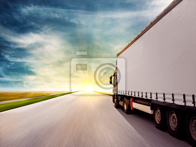 Camión en el Sunset