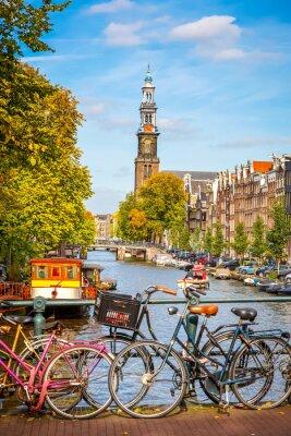 Cuadro Canal de Prinsengracht en Amsterdam