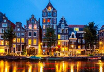 Cuadro Canales de Amsterdam.