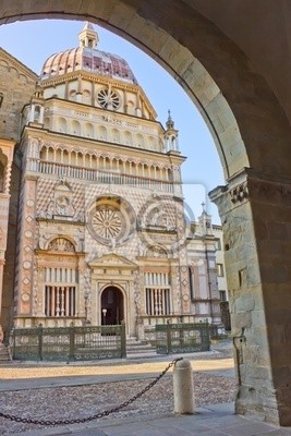 capella Colleoni, la Basílica de Santa Mria Maggiore de Bérgamo, Italia