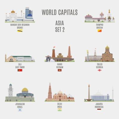 Cuadro capitales mundiales
