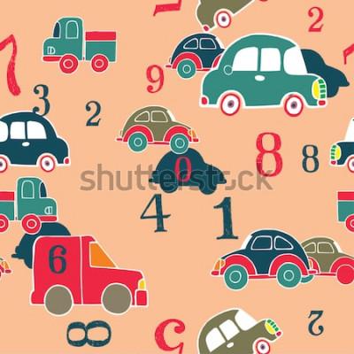 Cuadro carros y digitos
