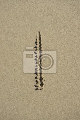 carta de arena me alfabeto