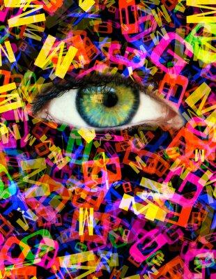 Cuadro Carta de ojo