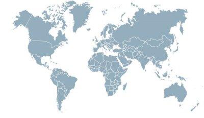 Cuadro carte du monde 24072015