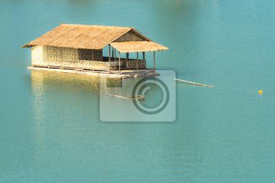 Cuadro casa flotante