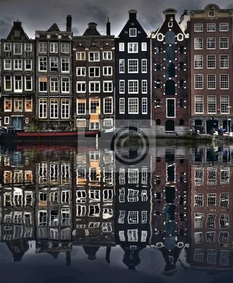 Cuadro Casas Amsterdam