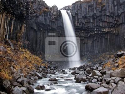 Cascada de Svartifoss, Islandia