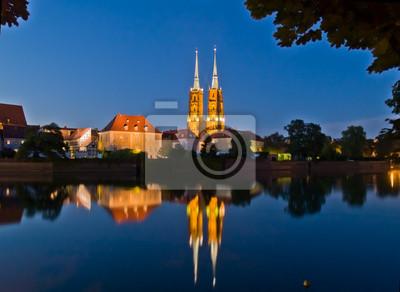 casco antiguo (Ostrow Tumski), Wroclaw, Polonia