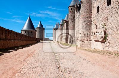 Castillo de Carcassonne, Francia, UNESCO