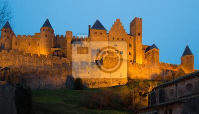 Castillo medieval de Carcassonne
