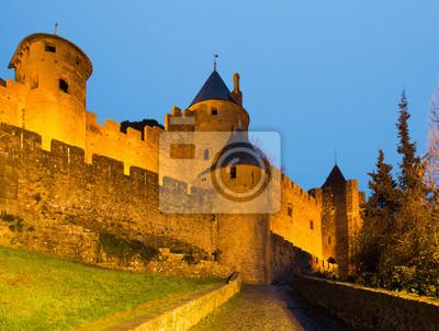 Castillo medieval en Carcassonne