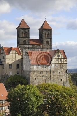 Castillo y colegiata en Quedlinburg