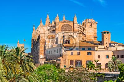 Catedral de Palma de Mallorca La Seu Spanien Balearen