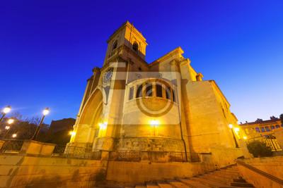 Catedral de San Juan de Albacete a primera hora de la mañana