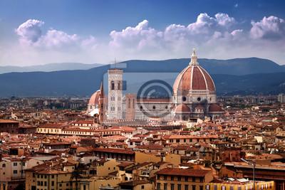 Catedral de Santa María del Fiore en Florencia, Italia