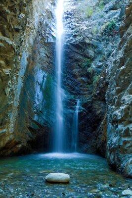 Cuadro Chantara Cascadas en las montañas Trodos, Chipre