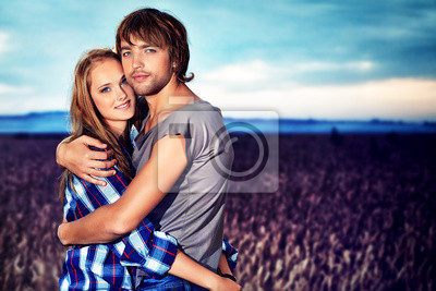 chica y su novio