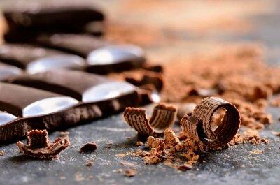 Cuadro Chocolate oscuro