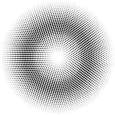 Cuadro Círculo de semitono