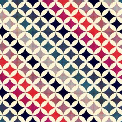 Cuadro círculos perfecta textura de fondo