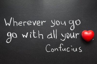 Cuadro Cita de Confucio