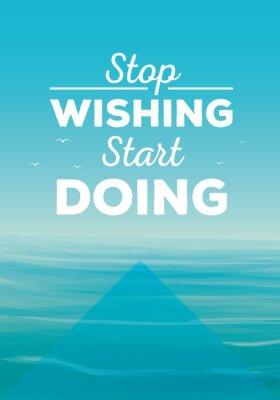 Cuadro Cita de motivación
