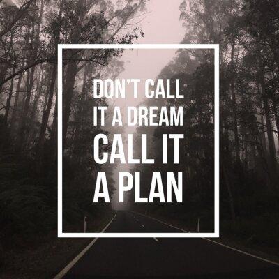 Cuadro Cita motivacional inspiradora