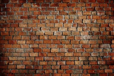 Cuadro Clásico Hermosa textura pared de ladrillo