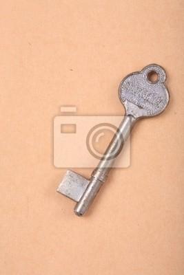 Cuadro Close up de antigüedades clave en el libro