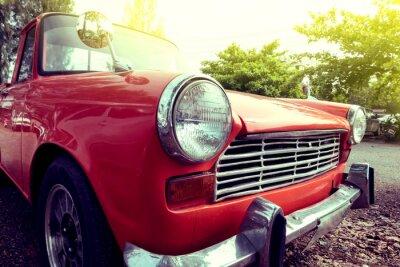 Cuadro Close-up faro de coches clásicos de colores