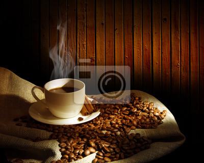 Cocer al vapor taza de café