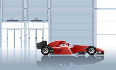 Cuadro coche deportivo