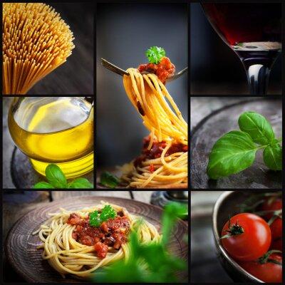Cuadro Collage Pasta