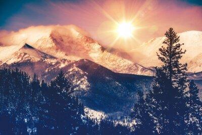 Cuadro Colorado Mountains Vista