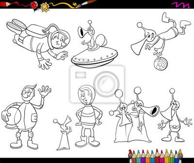 Colorear dibujos animados extranjeros pinturas para la pared ...