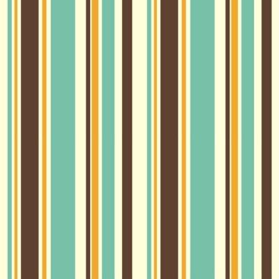 Cuadro Colorido rayas sin fisuras patrón de fondo ilustración