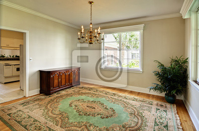 Comedor clásico sin mesa pinturas para la pared • cuadros comedor ...