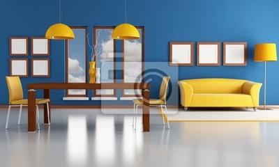 Comedor moderno pinturas para la pared • cuadros interiores, comedor ...