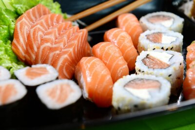 Cuadro Comida japonesa - Sushi