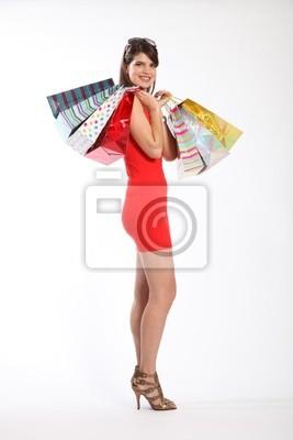 92091a664e3a2 Compras sexy chica en tacones altos vestido corto pinturas para la ...